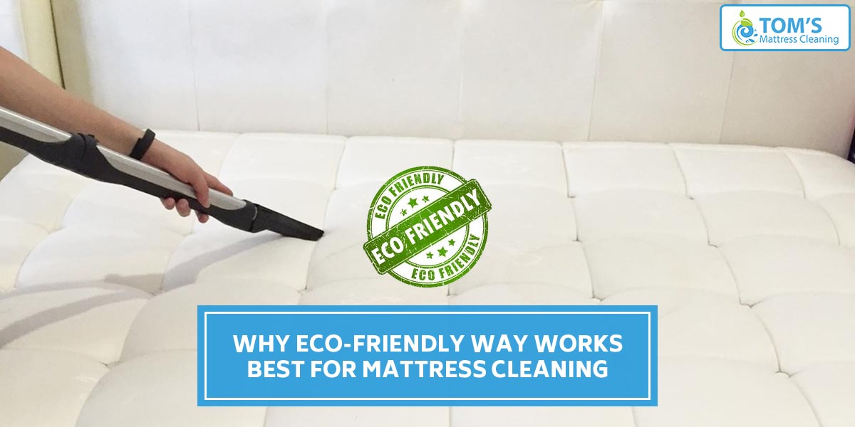 Why Eco-Friendly Way Works Best For Mattress Cleaning
