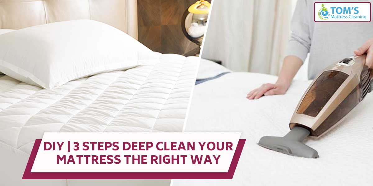 DIY | 3 Steps Deep Clean Your Mattress the Right Way
