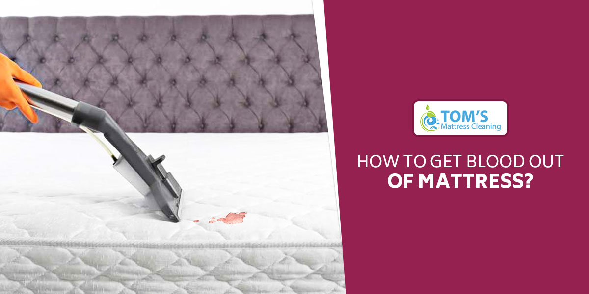 How To Get Blood Out Of Mattress Blood Stain Removal